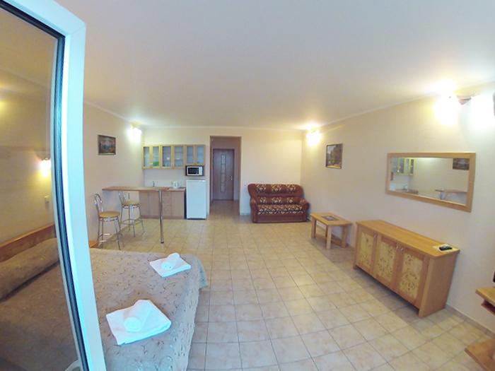 Студия апарт-отель Даваско 1 этаж